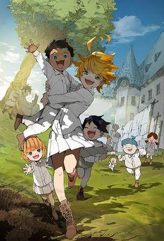 Tweets con contenido multimedia de 💥The Promised Neverland💥 (@TPNManga) | Twitter Manga Anime, Anime Art, Neue Animes, Chibi, Anime Dubbed, Anime Release, Hxh Characters, Japon Illustration, Ecchi