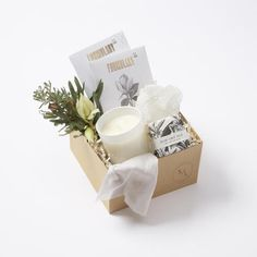A Mini Staycation Gift Box
