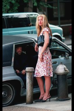 """It seems crazy to think that Carolyn Bessette-Kennedy would've been 50 today.  In my mind, she is forever young, exiting the chapel in which she and John F. Kennedy, Jr. got married, wearing a long white Narciso Rodriguez dress, her new husband grabbing her sheer white glove-covered hand to kiss it.  Fairy tales aren't real, but if there were ever two human people made of flesh and bone living on this earth that could represent that fantasy, that would perfectly accompany a """"happily ever…"""