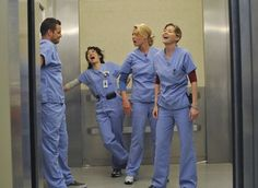 Day 18 of the Grey's Anatomy 30 Day Photo Challenge - Favorite Place In The Hospital  The elevator.  Epic things happen in the elevator on Grey's Anatomy.