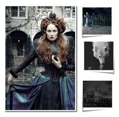 """""""The Life of The Evil Queen"""" by enchanticals ❤ liked on Polyvore featuring art"""