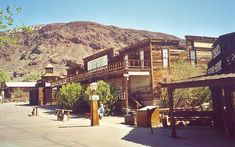 Calico Ghost Town (the ghost town section of Knott's Berry Farm was modeled after this place, among other deserted towns of the Wild West)