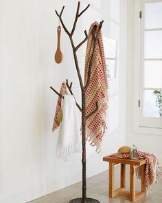 Bronze Branch Coat Tree | VivaTerra                                                                                                                                                                                 More