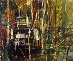 Peter Doig, one of my favourite paintings.