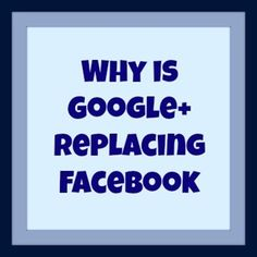 Why you need to get on Google+  TODAY!  Breaks down Google+ to make each feature easy to understand!  Google+ IS the next FB.... just like FB took out MySpace...  #socialmedia #google #facebook