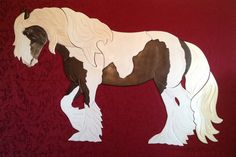 Barn Art By Ingrid Smith: Hand made wooden puzzle cut wall art made from your favorite horse photo.  They average 4x5+ feet with a glass eye for a striking look. Horses & Dogs