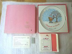 """Vintage1980 Ziggy Christmas Fine Porcelain Collectors Plate """"..."""