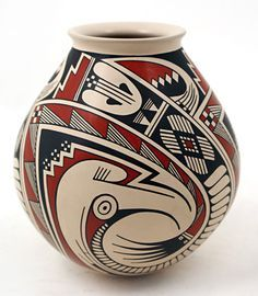 Rather than turning to expensive art pieces and portraits, you ca… Native American Baskets, Native American Pottery, Native American Art, Ceramic Pottery, Pottery Art, Ceramic Art, Vases, Southwest Pottery, Expensive Art