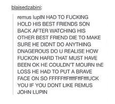 Lupin feels