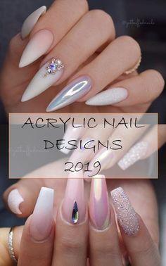 Bright Nail Designs, Acrylic Nail Designs, Acrylic Nails, Garra, Chic Nails, Fun Nails, Nail Art Diy, Cool Nail Art, Bright Nails