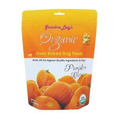 Grandma Lucy's® Organic Oven Baked Pumpkin Recipe Dog Treats 14 Oz