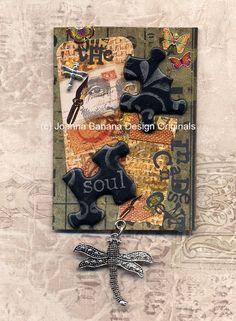 Joanna Grant - Artist Trading Card - ATC, ACEO www.joannabananadesignoriginals.blogspot.com or www.facebook/JoannaGrantArt