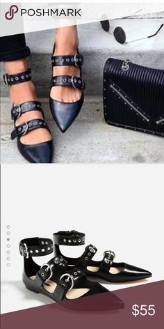 Zara flats Brand new bloggers favorite Zara Shoes