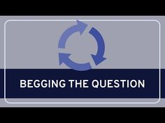 Introduction to Critical Thinking - YouTube Begging The Question, Logical Fallacies, Duke University, Critical Thinking, Youtube, Youtubers, Youtube Movies