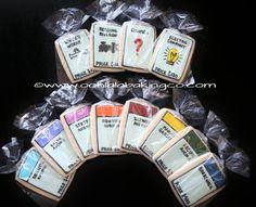 Monopoly Cookies por oohlalabakingco en Etsy