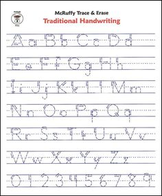 Letter Tracing: Alphabet