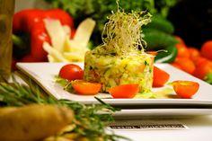 Fresh, Colorful Tar Tar #tartar #foodporn