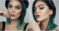Look 9 by taynábaracho - Make Me Up, How To Make, Magical Makeup, Linda Hallberg, Makeup Remover, Photo Editor, Hair, Make Up Remover, California Hair