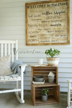 Front Porch Ideas: Small Front Porch Makeover I don't know what is about a front porch, but it's one of my favorite places to spend time. So it just makes sense to keep up with the porch as if it's a room in your house. I've done a couple makeovers here, and one best decorative... Read more