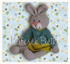 Kuferek Bietki: Króliczka Letycja/Gehäkelte Häsche/Crochet Bunny