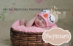Free Owl Hat Crochet