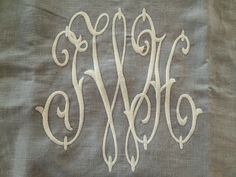Custom Monograms at Number Four Eleven