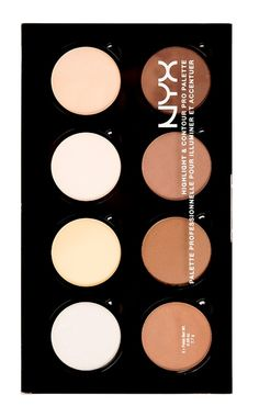 NYX Highlight & Contour Pro Palette ($30) is a new refillable highlight and contour palette that includes eight shades of customizable highlighting and con