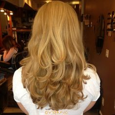 Beautiful sandy blonde hair color with Organic Color Systems by Audrey of True Concepts Salon. Perfect for fall!