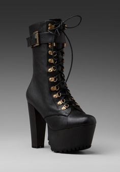 "Finally affordable, and they are out of stock. :( ""Jeffrey Campbell for Wildfox Couture Sergeant Pepper Bootie in Black"