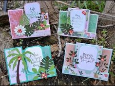 What's in this kit: Everything you need to make 4 beautiful cards. Included are full color instructions Card bases, pattern paper, embellishments and envelop.