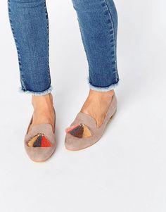 Glamorous Tassel Slipper Shoes