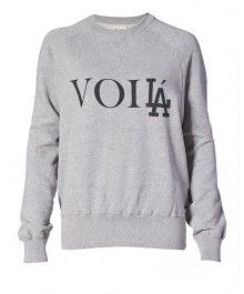 Aimee Song for eLUXE - VoiLA Crew Neck Sweatshirt