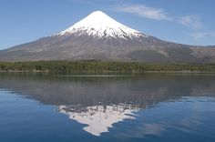 Mt. Osorno, in Chile. This of course reminded me of home and our own Mt. Hood.