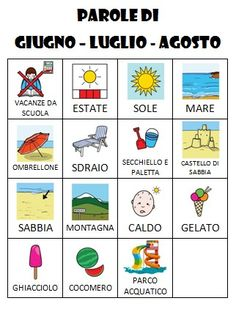 Learning Italian Through Vocabulary Kids Homework Station, M Learning, Italian Language, Learning Italian, Language Activities, Dyslexia, Teaching Materials, Special Needs, 1