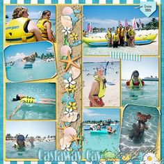 Disney scrapbook page #vacationscrapbook