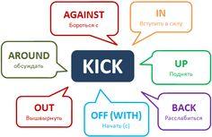 Фразовый глагол Kick