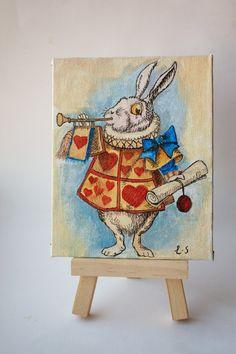 Alice in Wonderland White Rabbit Original