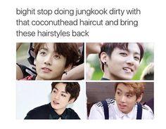 I kinda like his coconut haircut tho.....