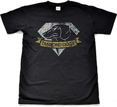 Teamzad Distressed Diamond Dogs Camiseta para hombre X-Large #camiseta #starwars #marvel #gift