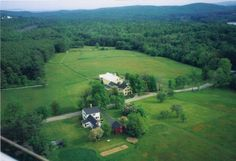 Horse Ranch for Sale in Merrimack County in New Hampshire. Do You Have Horses? Stunningly Beautiful Setting, 82 Acres with 50 Acres Open Pasture and 30 Acres Woodland, 5-6 Bedroom Farmhouse with Ell, Multi-level Attached Barn, plus Workshop, plus Garage and Equipment Shed.