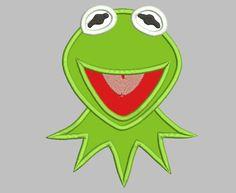 Kermit The Frog Machine Embroidery Applique Design – IC1derful Designs