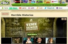 Horrible Histories has become a phenomena. The website has videos, games and songs which are great to use as an introduction to a historical period.