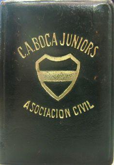 Carnet Fútbol. Club Atlético Boca Juniors. Papelera Palermo de Colección.