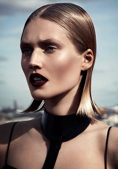 leahcultice: Toni Garrn by Driu & Tiago for Interview Russia April 2014