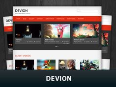 Devion Wordpress Theme | FabThemes.com