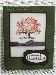 Many Thanks card for OWH by taylorsil - Cards and Paper Crafts at Splitcoaststampers