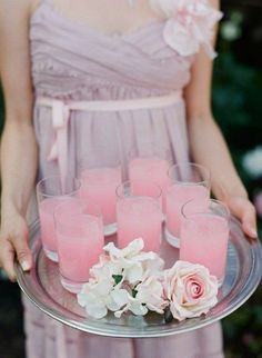 pink drinks for a paris / french themed party