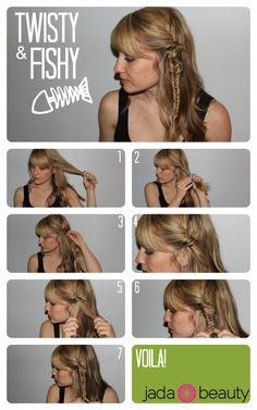 Easy Hair DIY: Twisted Fishtail