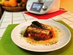 A dieta con il Bimby TM5 dimagrire con gusto - Filetti di merluzzo tricolore