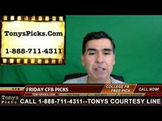 College Football Friday Picks Betting Predictions Previews Odds 12-2-2016
